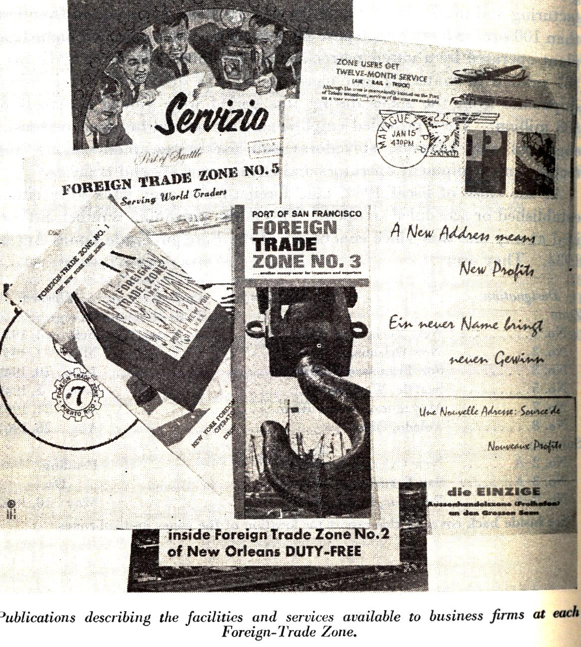 Foreign Trade-Zones: 75 Years of History
